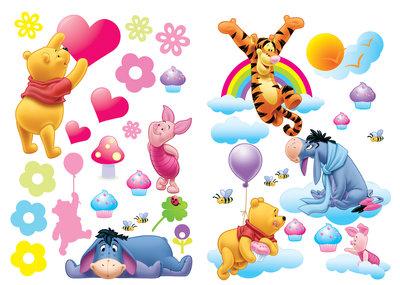 Muursticker Winnie The Pooh.De Leukste Winnie The Pooh Muurstickers Vind Je Hier