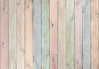Babykamer Behang Hout : Behang met vintage hout fotobehang