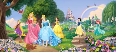 Disney Princess behang poster H