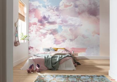 Wolken fotobehang