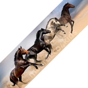 Paarden behangrand NW