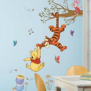 Winnie the Pooh muursticker In de boom RMK2463GM