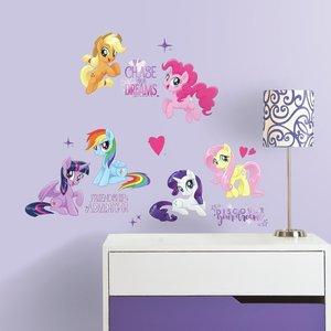 My Little Ponymuurstickers The Movie