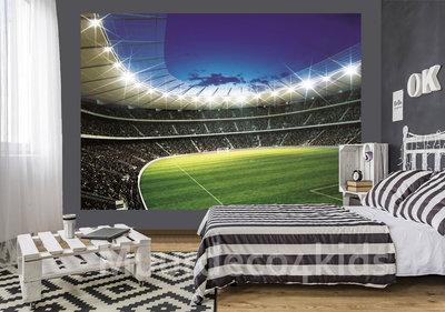 Voetbal stadion 1 fotobehang - V3
