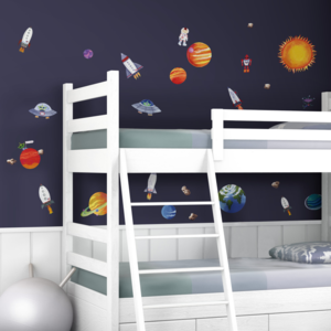 Ruimtevaart muurstickers Outer Space RoomMates