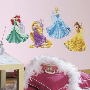 Disney Princess maxi muurstickers Kastelen RMK2772TB