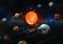 Zonnestelsel fotobehang Graham and Braun