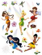 Disney Fairies muurstickers Tinkerbell en Elfjes XL