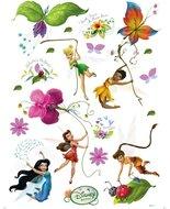 Disney Fairies muurstickers XL Elfjes/bloemen