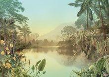 Jungle fotobehang Lac Tropical