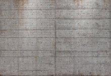 Concrete blocks fotobehang