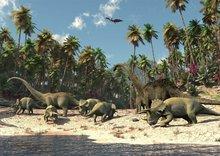 Dinosaurus fotobehang L