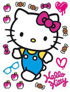 Hello Kitty muursticker XL