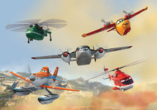 Disney Planes 2 fotobehang L
