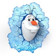 Frozen lamp Olaf 3D