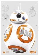 Star Wars BB-8 muursticker XL