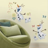 Frozen Fever muursticker Olaf RoomMates
