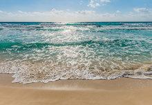 Strand en Zee fotobehang XL