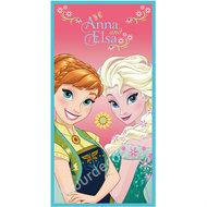 Frozen Fever badlaken Anna & Elsa