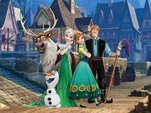 Frozen Fever poster behang S