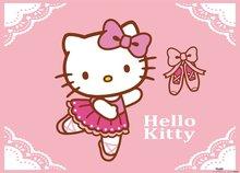 Hello Kitty poster Ballerina