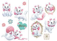 Marie muurstickers L - Aristocats