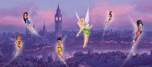 Disney Fairies poster Londen H
