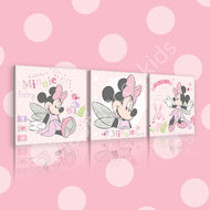 Minnie Mouse canvas set