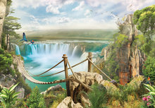 Jungle fotobehang Waterval XL