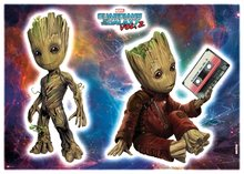 Guardians of the Galaxy muurstickers Groot