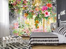 Bloemen fotobehang Trendy