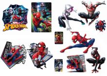 Spiderman muurstickers friends