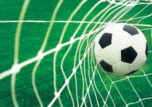 Voetbal behang Goal