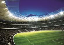 voetbal behang stadion 1