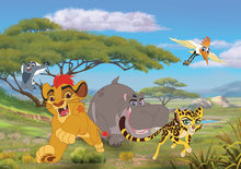 Lion Guard fotobehang Leeuwenwacht