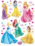Disney Princess muurstickers XL