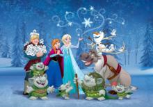 Disney Frozen behang XL nieuw