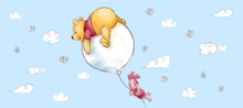Winnie the Pooh behang poster H