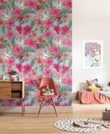 Ariel fotobehang Pink Flower