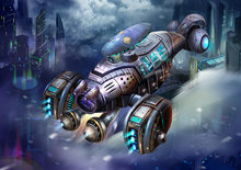 Ruimtevaart behang Space ship