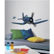 Planes muursticker Skipper RMK2306GM